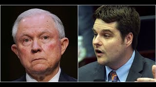 Rep. Gaetz GRILLS AG Jeff Sessions on Appointing a Special Prosecutor to Investigate Hillary Clinton