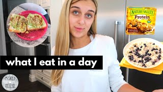 WHAT I EAT IN A DAY & MY AVOCADO TOAST RECIPE!
