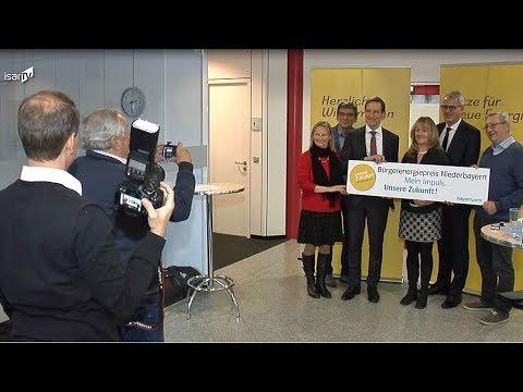 ISAR TV: Auftakt Bürgerenergiepreis Niederbayern 2018