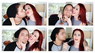 Husband Does My Makeup Tag | Jaclyn Hill