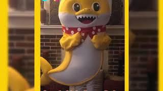 Baby Shark inspired mascot