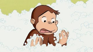 Curious George 🐵 George, Stain Remover 🐵Full Episode🐵 Cartoons For Kids 🐵 Kids Movies