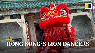 Lion dancing: good wishes for the Chinese New Year