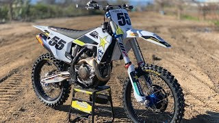 First Ride 2019 Husqvarna FC450 Rockstar Edition - Motocross Action Magazine