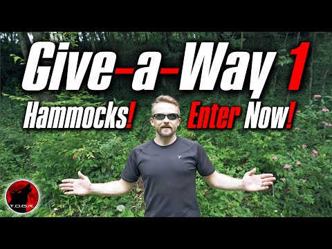 ENTER NOW - Week 1 Giveaway - Go Outfiiters Hammocks