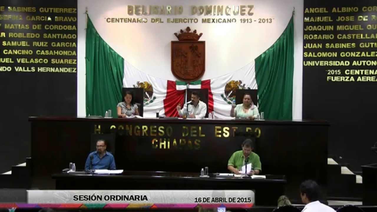 Sesión Ordinaria 16 de Abril de 2015