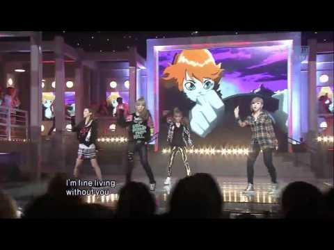 [SBS 인기가요] 투애니원 - 헤이트유, 2ne1 - Hate you 635회 2011년8월21일 일요일