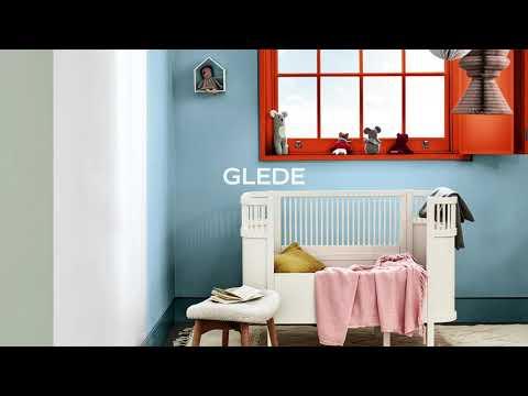 Årets farge Tranquil Dawn på barnerommet