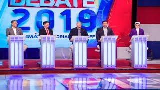 #Debate2019: Diokno, Gadon, Dela Rosa, Ejercito, Gutoc   Round 1