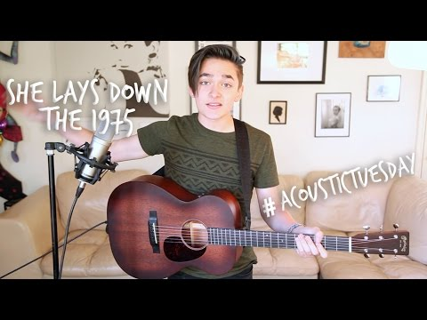 She Lays Down - The 1975 (Acoustic Cover by Ian Grey)