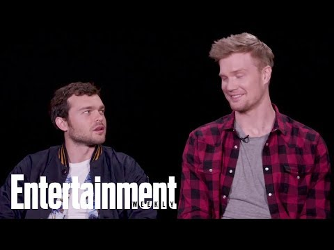 'Solo' Stars Alden Ehrenreich & Joonas Suotamo On How To Speak Like A Wookiee | Entertainment Weekly