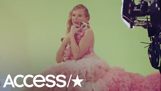 Taylor Swift Meeting Her New Kitty On Set Of 'ME!' Is The Cutest Thing You'll See All Day! | Access