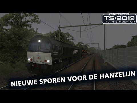 Train Simulator 2019: [MarkA] Nieuwe sporen voor de Hanzelijn