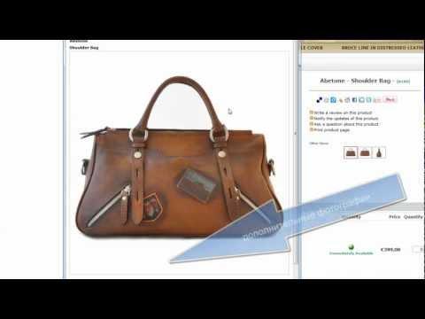 PratesiShop.com: Оформление онлайн заказа