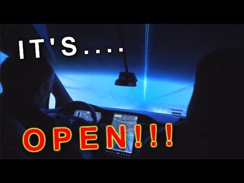 ELON MUSKS AMAZING NEW BORING TUNNEL OPENS!!!!