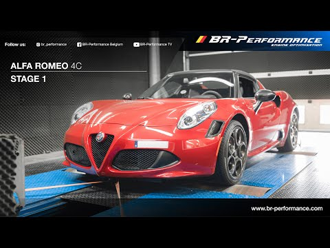 Alfa Romeo 4C / Stage  By BR-Performance / Supersprint exhaust