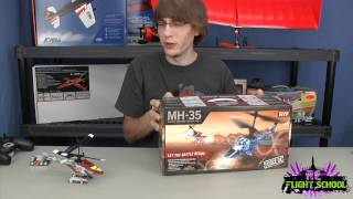 Force RC Battle RC Helicopters Unboxing & Flight