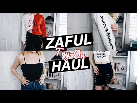 Zaful Try-On Haul & Review | IS IT WORTH YOUR $$?