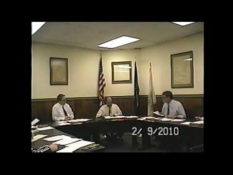 Champlain Village Board Meeting  2-9-10