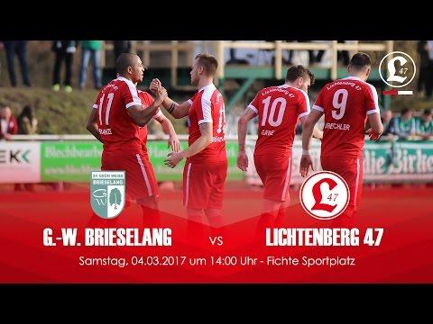 SV Grün-Weiss Brieselang - Lichtenberg 47 (NOFV-Oberliga Nord) - Spielszenen | SPREEKICK.TV
