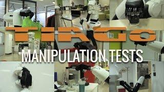 TIAGo robot - Manipulation Tests
