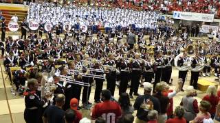 Ohio State Marching Band Theme from Superman - aka Clark Kent  Skull Session 9 6 2014 OSU vs VA Tech
