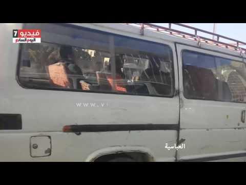 النشرة المرورية.. تباطؤ حركة السيارات بمحاور القاهرة والجيزة
