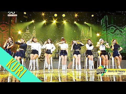TWICE(트와이스) - Merry&Happy(메리앤해피) + Heart Shaker(하트셰이커) STAGE MIX(교차편집)