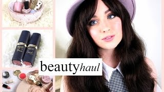 Becca Rose – Huge Makeup Haul Spring 2014