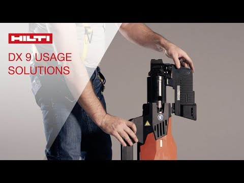 HOW TO troubleshoot issues on the Hilti DX 9 Stand-up decking system