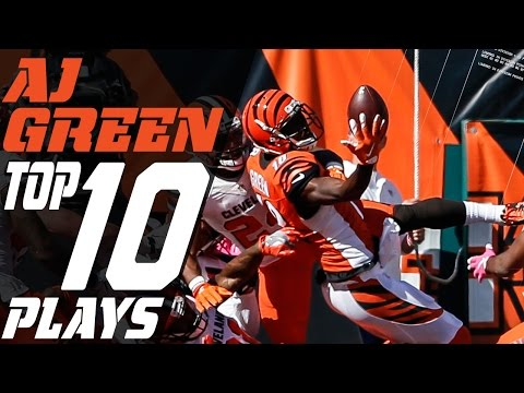 A.J. Green's Top 10 Plays of the 2016 Season | NFL Highlights