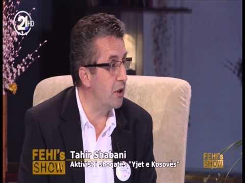 Tahir Shabani ne Fehi`s Show 21 05 2013