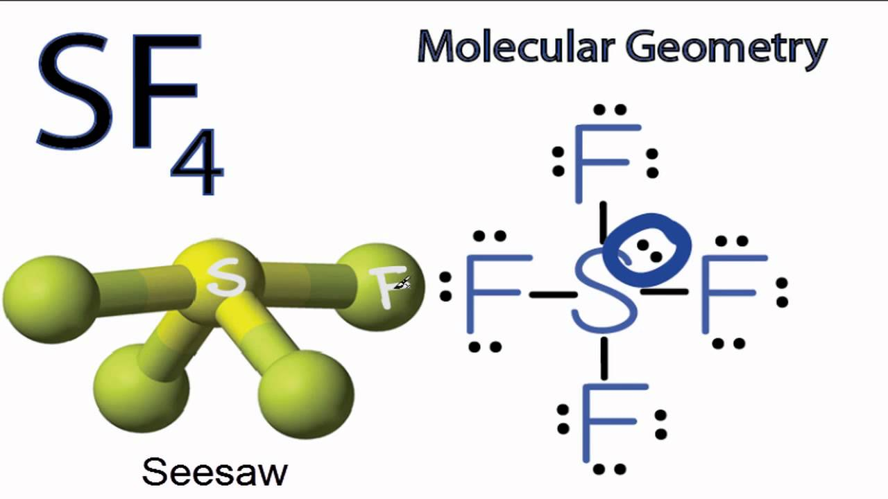 SF4 Molecular Geometry / Shape - YouTube