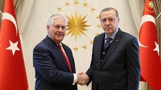Rex Tillerson Fails to Acknowledge Concerns over Turkey's Slide Toward Dictatorship in Ankara Visit