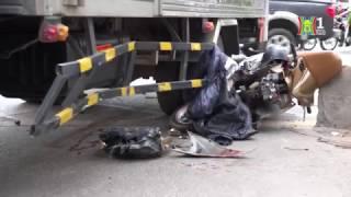 Hà Nội: Tai nạn trên làn đường BRT Giảng Võ | HANOITV