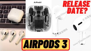 AIRPODS 3 ARE COMING! RELEASE DATE, PRICES - AIRPODS 3 NEW DESIGN😱🔥