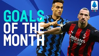 Zlatan, Martínez and more! | Goals Of The Month | September 2020 | Serie A TIM