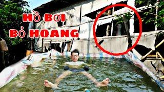 Sang tv   Thử Làm Hồ Bơi   Ở Căn Nhà Bỏ Hoang 10 Năm Để Giải Nhiệc Mùa Nắng.