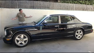 The Bentley Arnage Is the Ultimate $30,000 Luxury Car