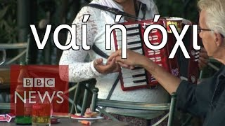 Greece: Yes & No 'both bad options' - BBC News