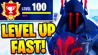 How To LEVEL UP FAST in Fortnite Season 7! RANK UP FAST & EARN BATTLE PASS TIERS FAST! MAX ICE KING!