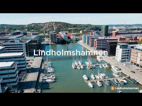 Sommarfeeling i Lindholmshamnen