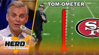 Colin Cowherd decides which Tom Brady destination would make the hottest storyline | NFL | THE HERD