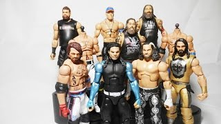 WWE Wrestlemania 33 Elite Figures Hardy Boys - AJ Styles - Rollins | WWE CUSTOM FIGURES