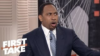 Stephen A., Max debate the Baker Mayfield hype | First Take | ESPN