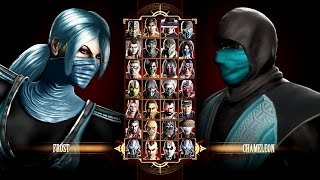 Mortal Kombat 9 Chameleon & Frost