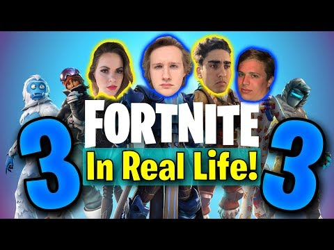 Fortnite In Real Life 3!