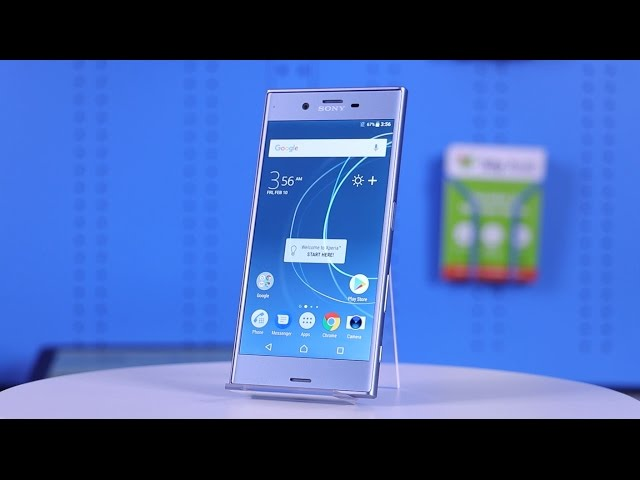 Belsimpel.nl-productvideo voor de Sony Xperia XZs Blue