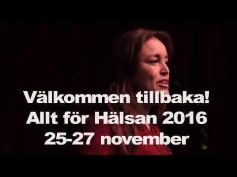 Allt för Hälsan, 25-27 november 2016