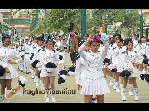 Banda de Guerra - Colegio Vicente Rocafuerte (Desfile en Pajan)
